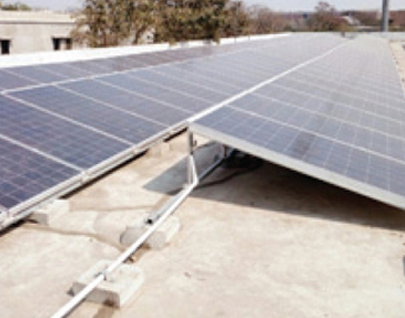 Gujarat University Powered by 300KW Solar Power plant