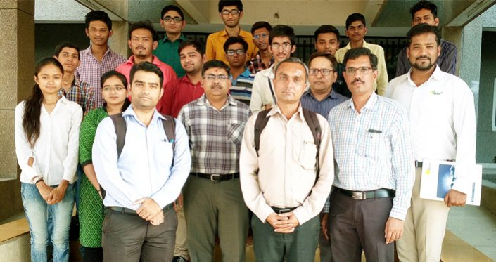 Awareness Program for Solar to Polytechnic colleges, Rajkot on 13/04/2017