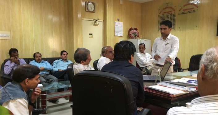 O&M Training to ONGC Engineers at Ahmedabad on 05/12/2016