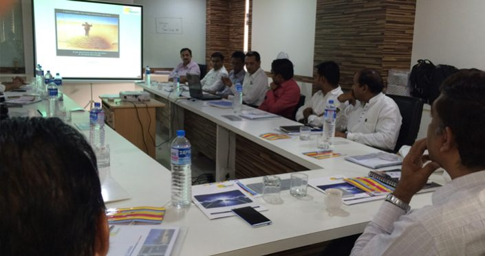 Training to Trainers at Topsun Plant on 16/05/2016