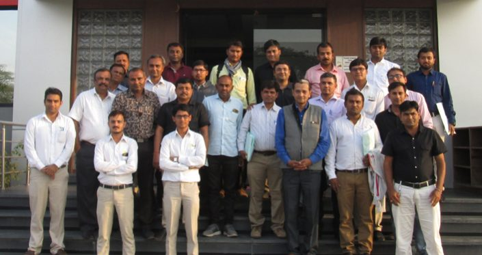Training to Trainers at Topsun Plant on 03/02/2017