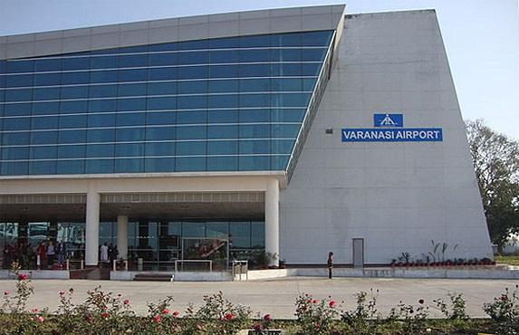 Varanasi airport India